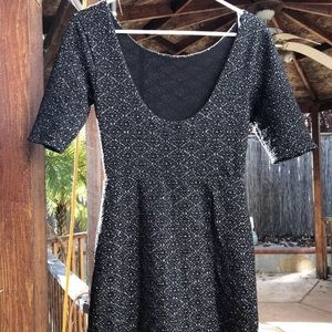 Free People sexy little black dress sz small